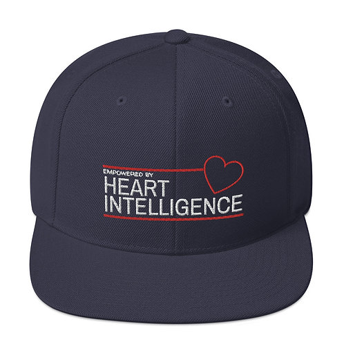 Snapback Hat - Empowered By Heart Intelligence
