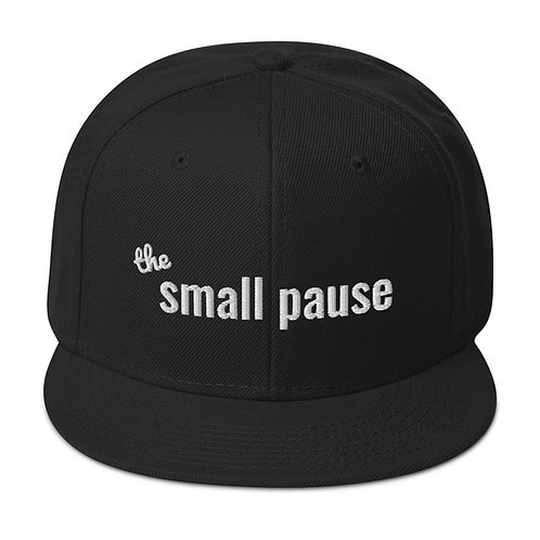 Snapback Hat - Classic - The Small Pause