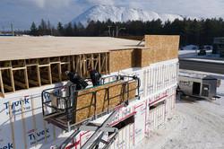 construction d'un immeuble commercial