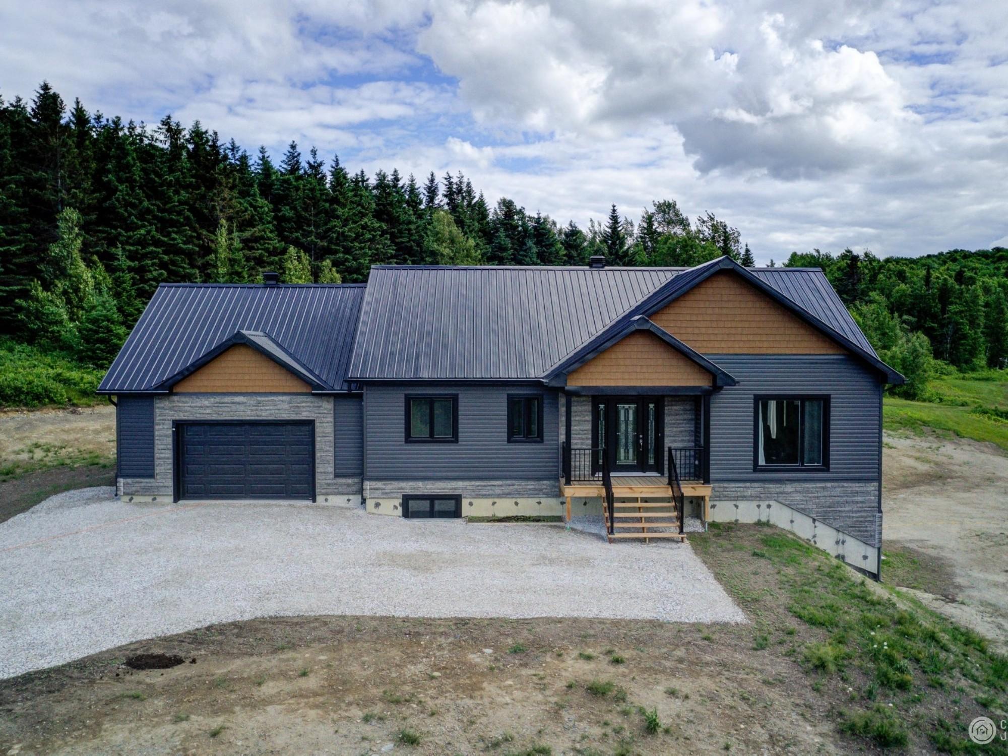 construction neuve avec garage