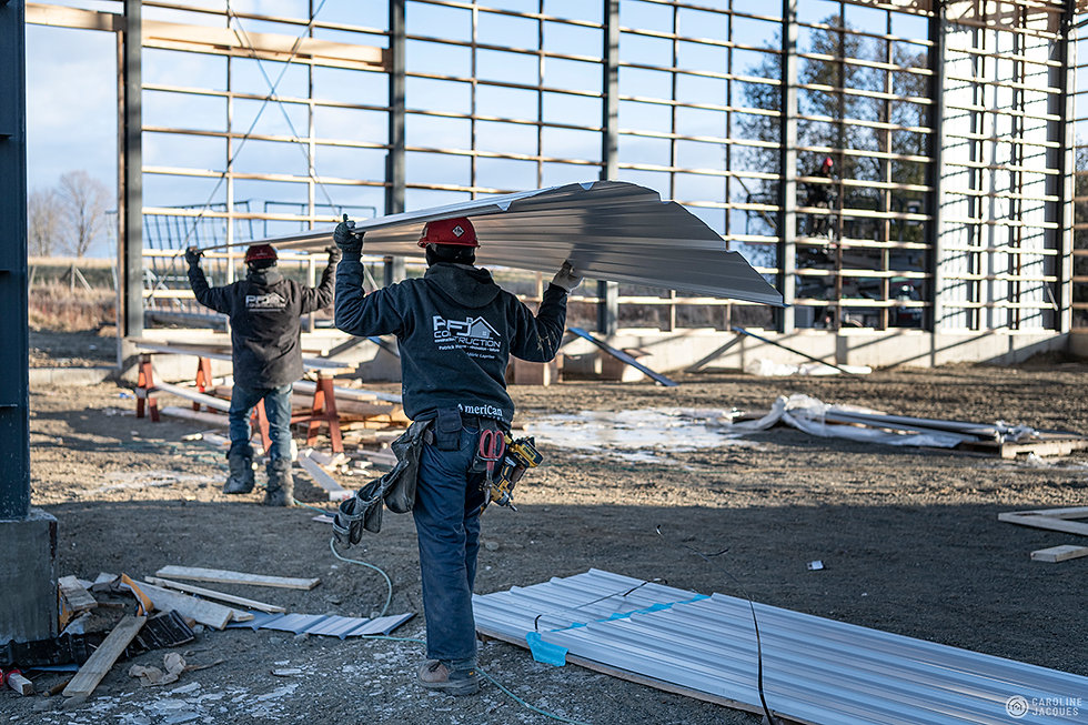 chantier de construction - pfj construct