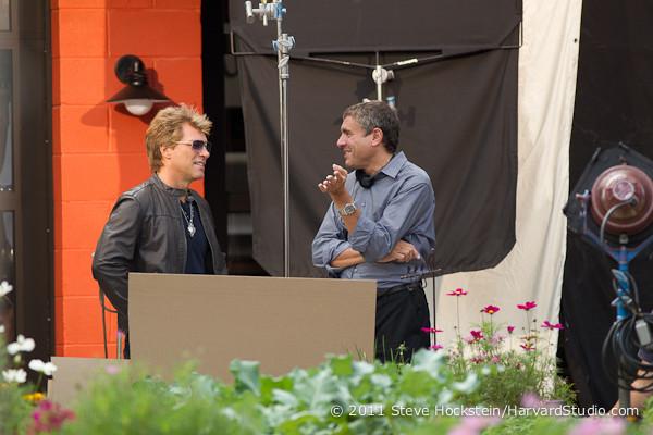 Marcus & Jon Bon Jovi