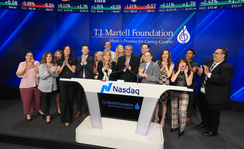 Tj Martell opening NASDAQ