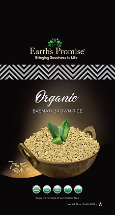 Organic Basmati Brown