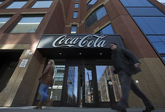 Picture of the outside Coca-Cola Canada offices