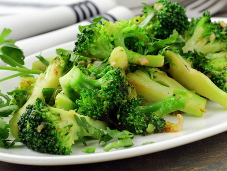 RECIPE: Sesame Ginger Broccoli