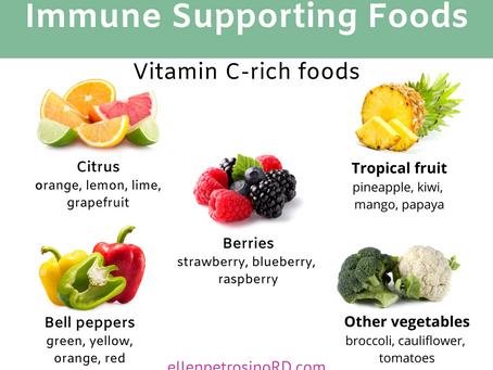 Immune Support: Vitamin C