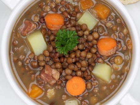 RECIPE: Vegetable Loaded Lentil Soup