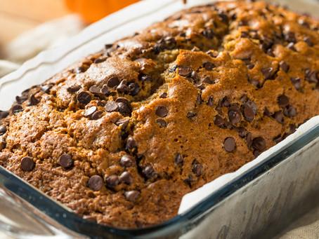 RECIPE: Pumpkin Chocolate Chip Bread