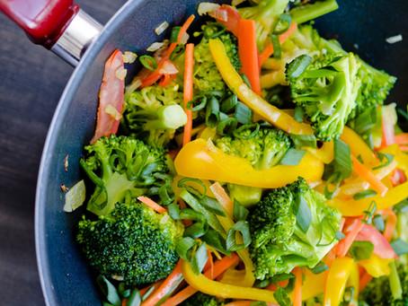RECIPE: Kale & Broccoli Stir Fry