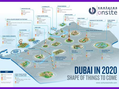Dubai's ambitious developments upto 2020