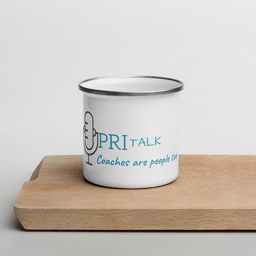 PRI Talk Enamel Mug