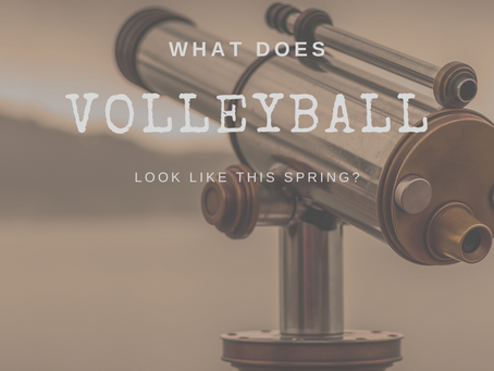 What does volleyball look like in the spring?