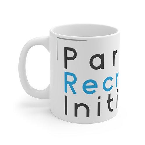 11oz White PRI Mug