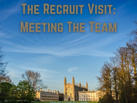 The Recruit Visit - Meeting The Team