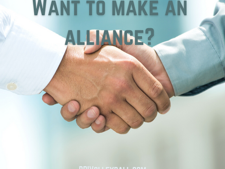 Want to make an alliance?