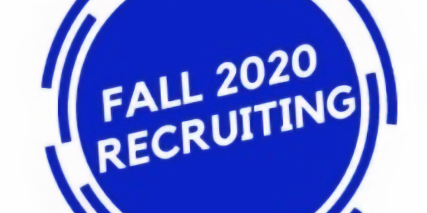 Recruiting through the Fall of 2020 (2)