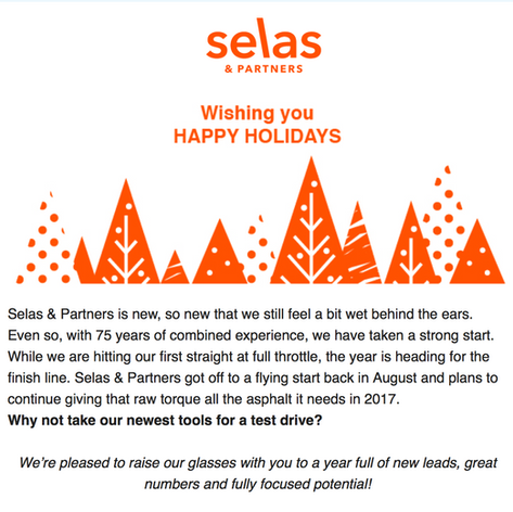 Copywriting Selas & Partners