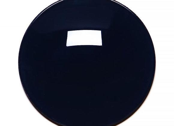 Black Solid Regular Curve Lens