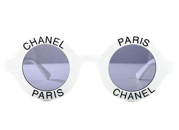 Chanel 01945 10601 - White & Black
