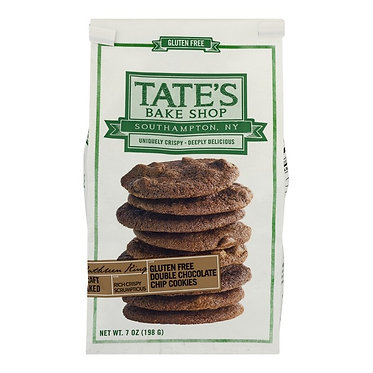 Tate's Bake Shop Gluten-Free Double Chocolate Chip Cookies 7.0 oz