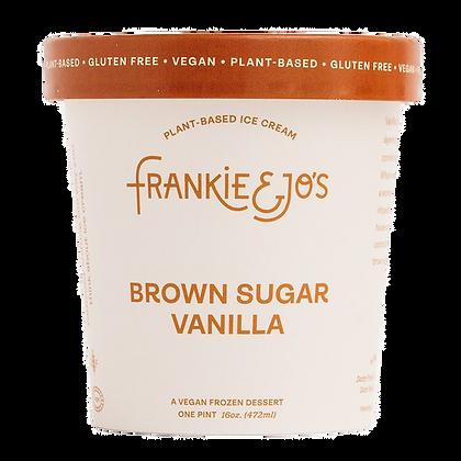 Frankie & Jo's Brown Sugar Vanilla Plant-Based Ice Cream 16 fl oz