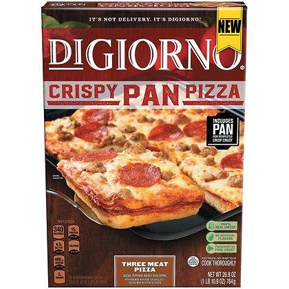 DiGiorno Crispy Pan Three Meat Pizza 26.9 oz