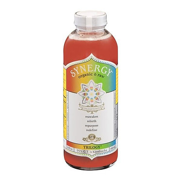 GT's Enlightened Synergy Organic Trilogy Raw Kombucha 16 fl oz