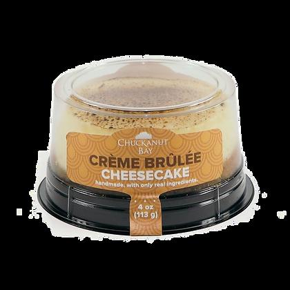 Chuckanut Bay Foods Creme Brulee Cheesecake 4 oz