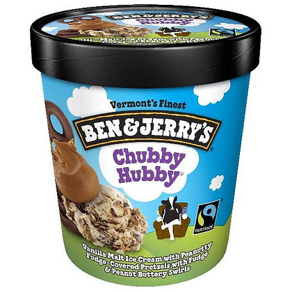Ben & Jerry's Ice Cream Chubby Hubby 1 pt