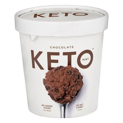 Keto Ice Cream, Chocolate 473 ml