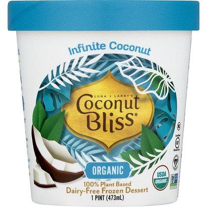 Coconut Bliss, Dairy-Free, Organic, Infinite Coconut 1 pt