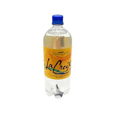 LaCroix Sparkling Water, Orange 1 lt