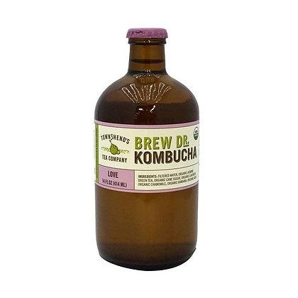 Brew Dr. Kombucha Love Organic Kombucha Drink 14.0 oz