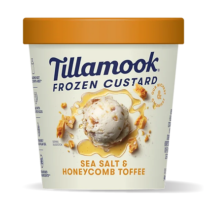 Tillamook SEA SALT & HONEYCOMB TOFFEE 15OZ