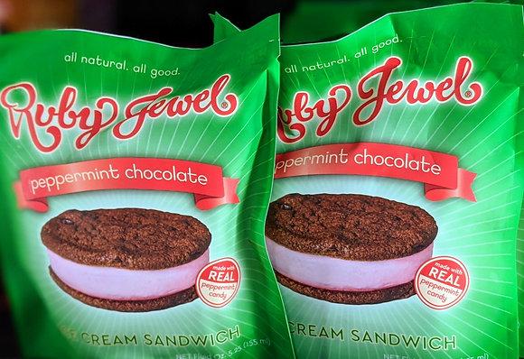 Ruby Jewel peppermint chocolate