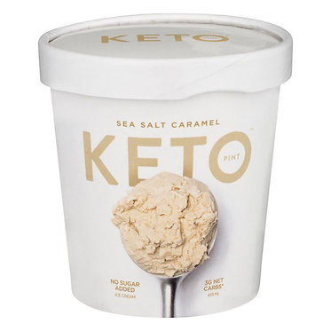 Keto Ice Cream, Sea Salt Caramel 473 ml