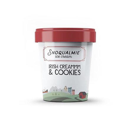 Snoqualmie Ice Cream, Irish Creammm & Cookies 1 pt