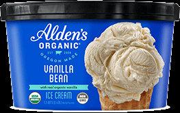 Alden's Organic Ice Cream Vanilla Bean 48 oz