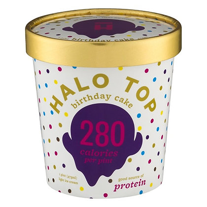 Halo Top Creamery Birthday Cake 1 pint