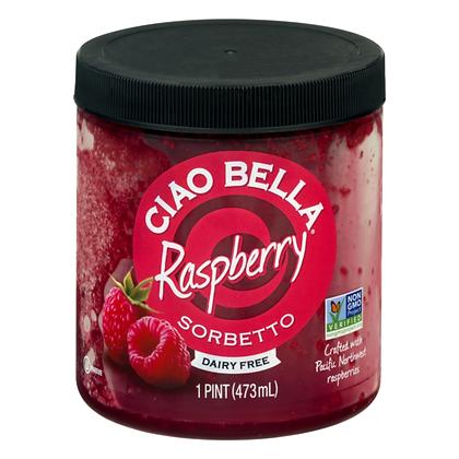 Ciao Bella Raspberry Sorbetto 16oz