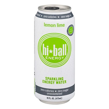 Hi-Ball Sparkling Energy Water Lemon Lime 16.0 fl oz