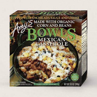 Amy's Bowls Mexican Casserole 9.5 oz