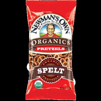 Newman Own Organic Spelt Pretzels