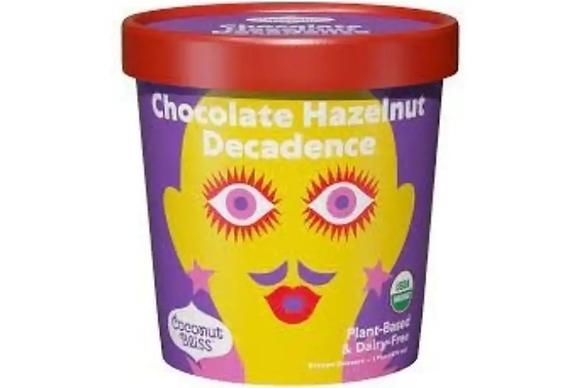 Coconut Bliss , Dairy-Free, Organic, Chocolate Hazelnut Decadence