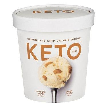 Keto Ice Cream, Chocolate Chip Cookie Dough 473 ml