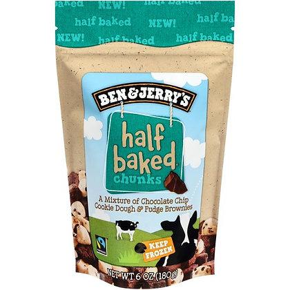 Ben & Jerry's Dough Chunks Half Baked® Chunks 6 oz