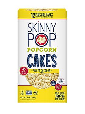 White Cheddar Popcorn Cakes