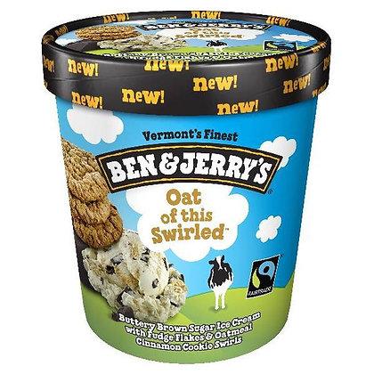 Ben & Jerry's Ice Cream Oat Of This Swirled 1 pt