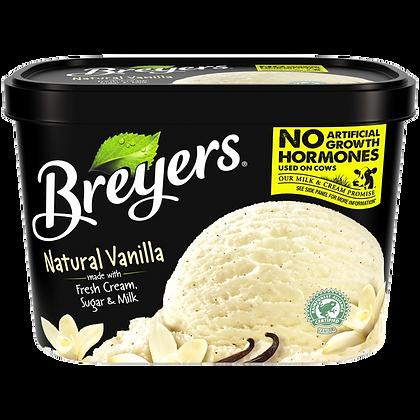Breyers Natural Vanilla Ice Cream 48 oz